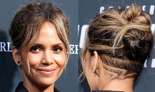 Halle Berry Undercut Hairstyle