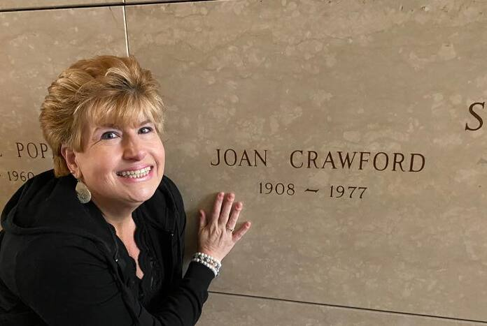 Joan Crawford grave
