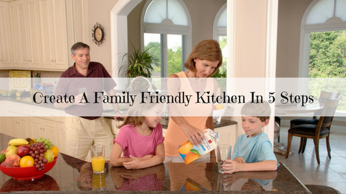 family friendly kitchen